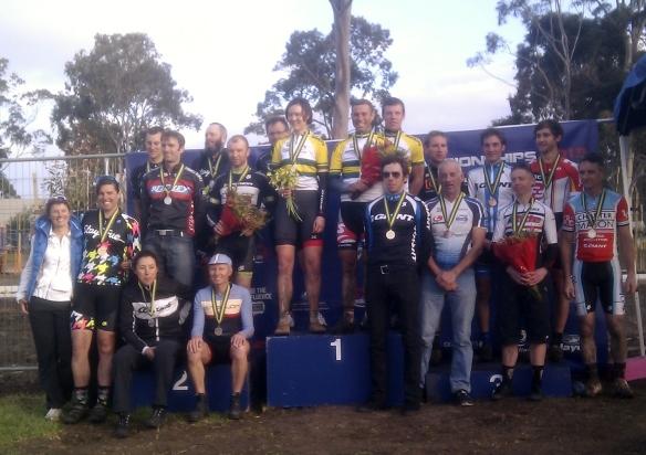#cxnats medallists 2013