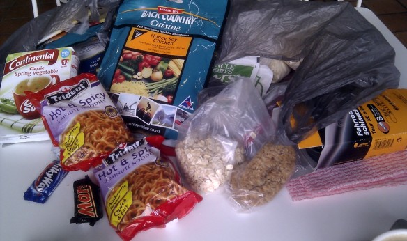 Food for the Nullarbor by bike