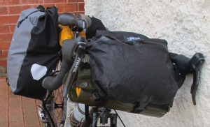 Zpacks Multi-Pack as handlebar bag