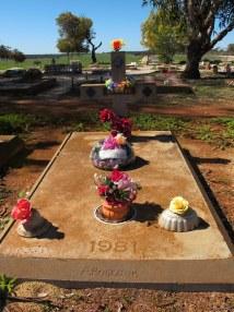 Lassie at Corrigin Dog Cemetery