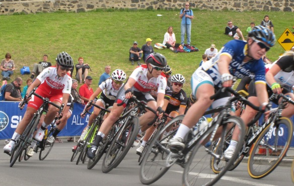 The 2014 Bay Crits elite women showed a mix