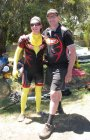Cycleworks leg fashion at 2014 road nats