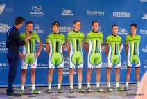 Oh the symmetry of Cannondale at the teams presentation 2014