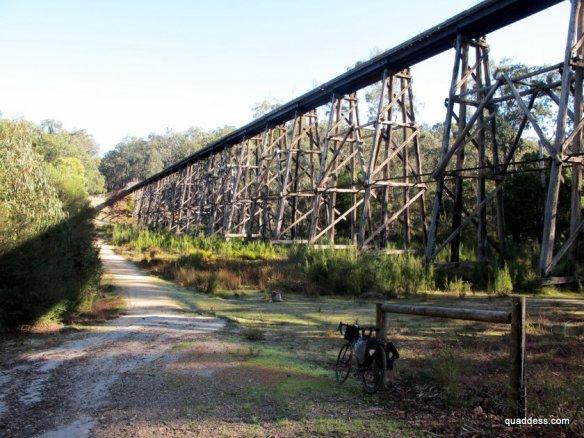Stony Creek trestle bridge, East Gippsland Rail Rail