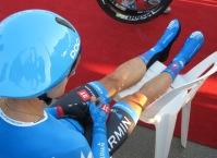 Take the weight off, pre time trial